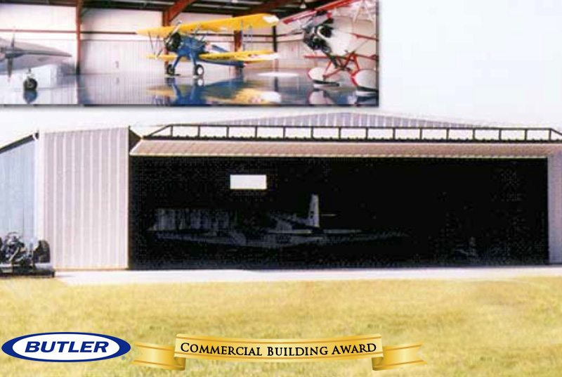 Award for Commercial Building - Airplane Hangar